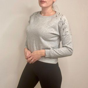 BETSEY JOHNSON Cropped Pullover Sweater